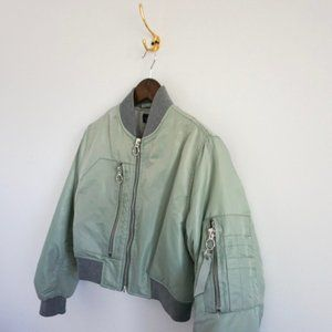 Cropped Puffer Bomber